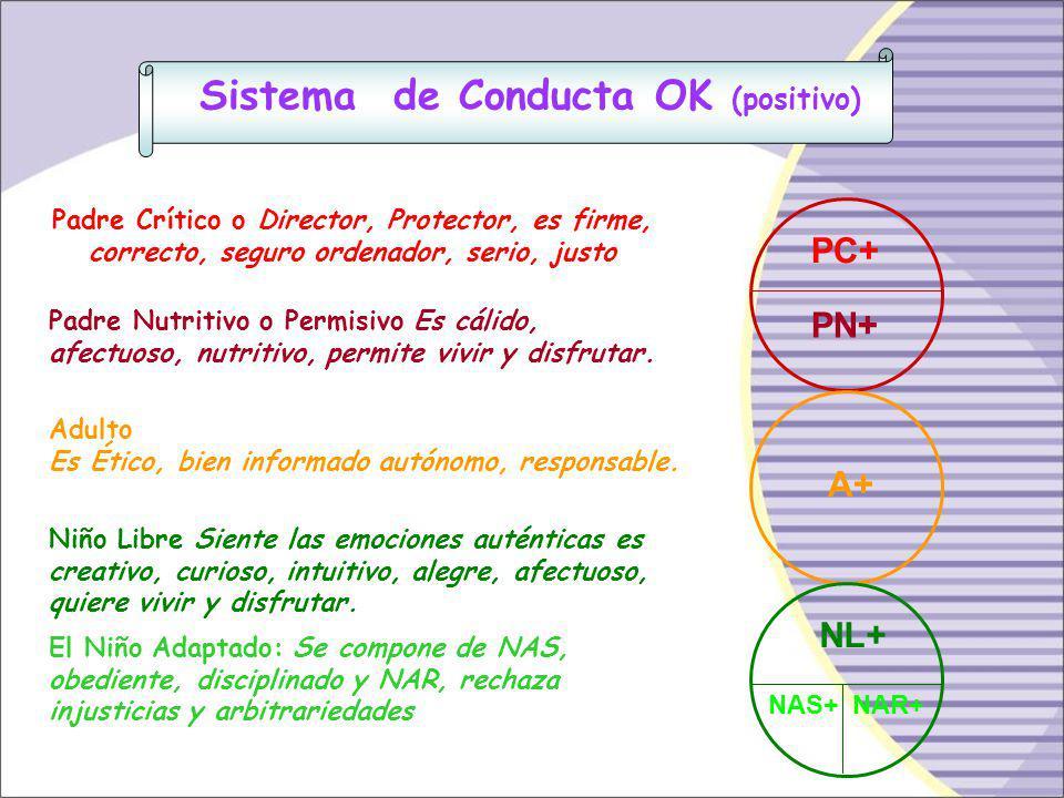 Sistema de Conducta OK (positivo)
