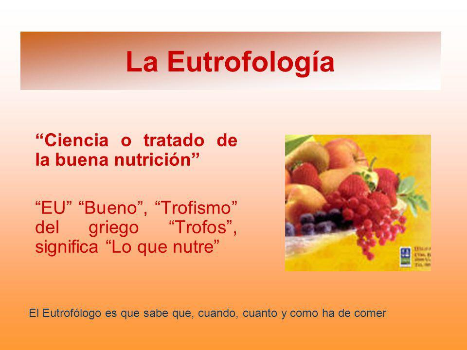 La Eutrofología Ciencia o tratado de la buena nutrición