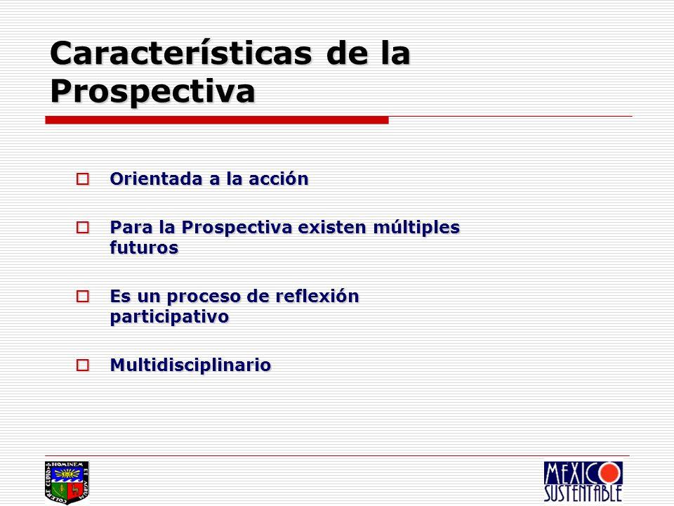 Características de la Prospectiva