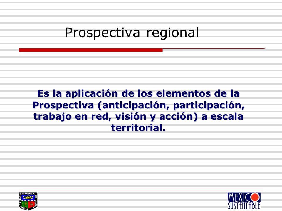 Prospectiva regional
