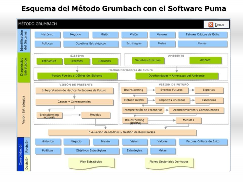 Esquema del Método Grumbach con el Software Puma