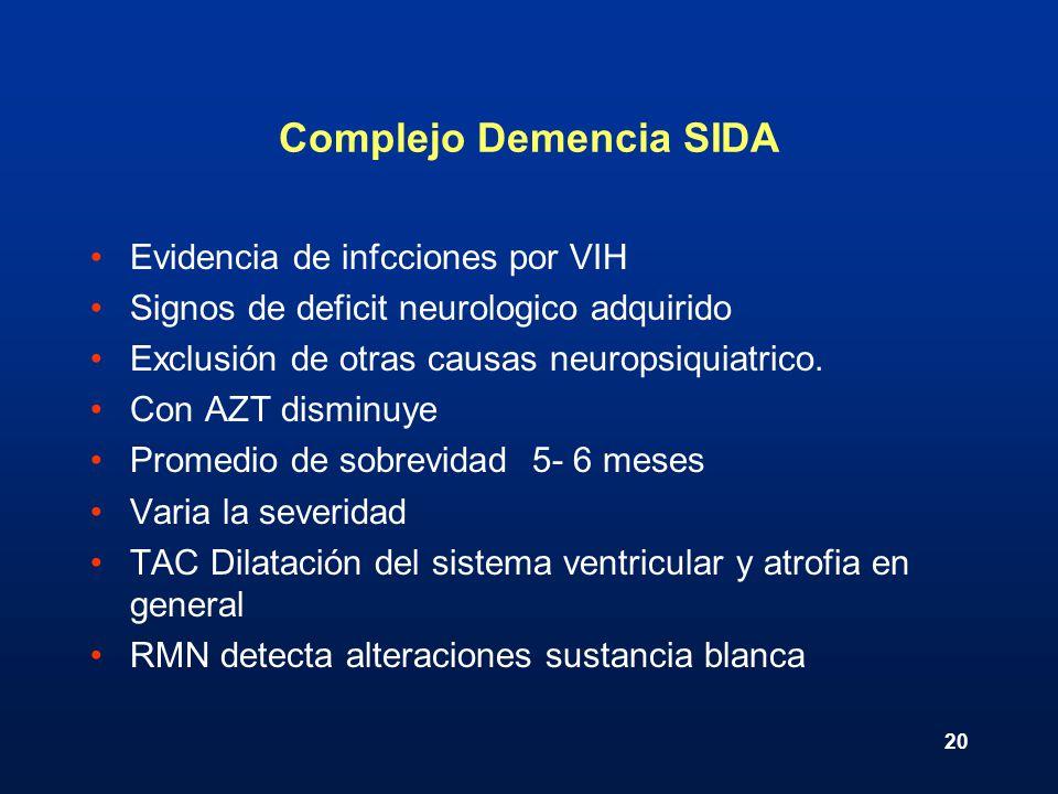 Complejo Demencia SIDA