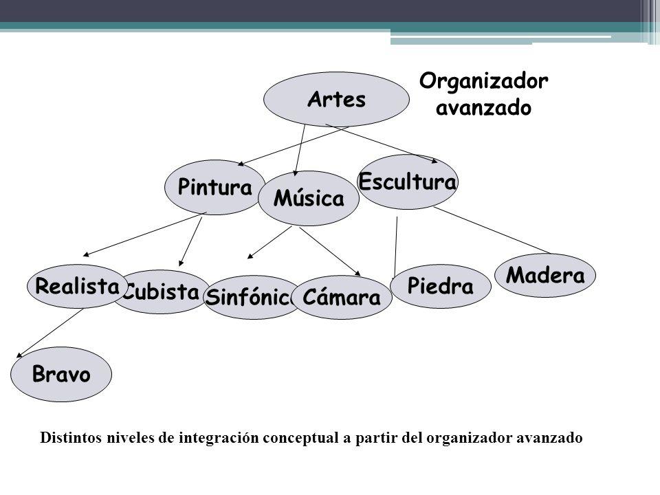 Organizador avanzado Artes Escultura Pintura Música Madera Realista