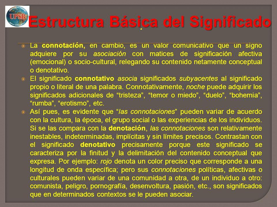 Estructura Básica del Significado
