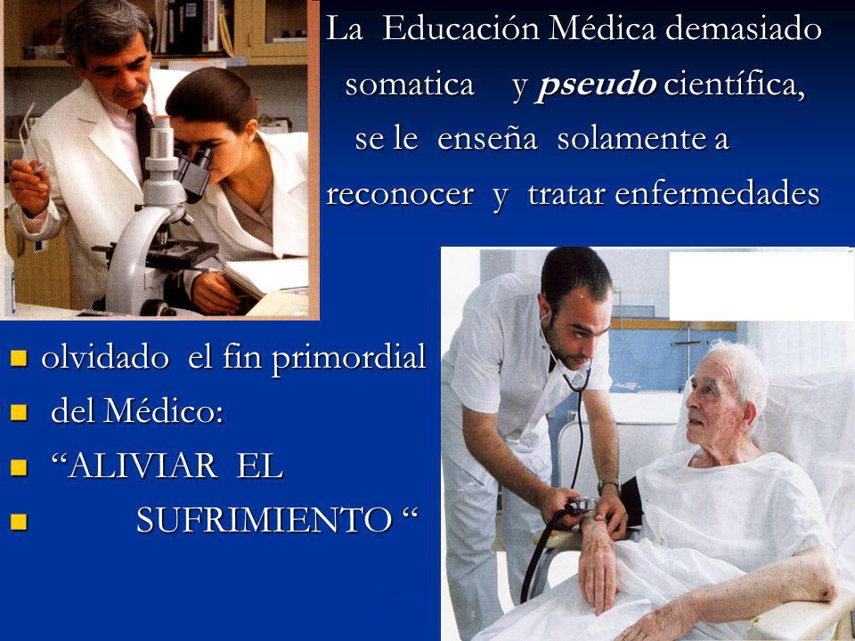 La Educación Médica demasiado