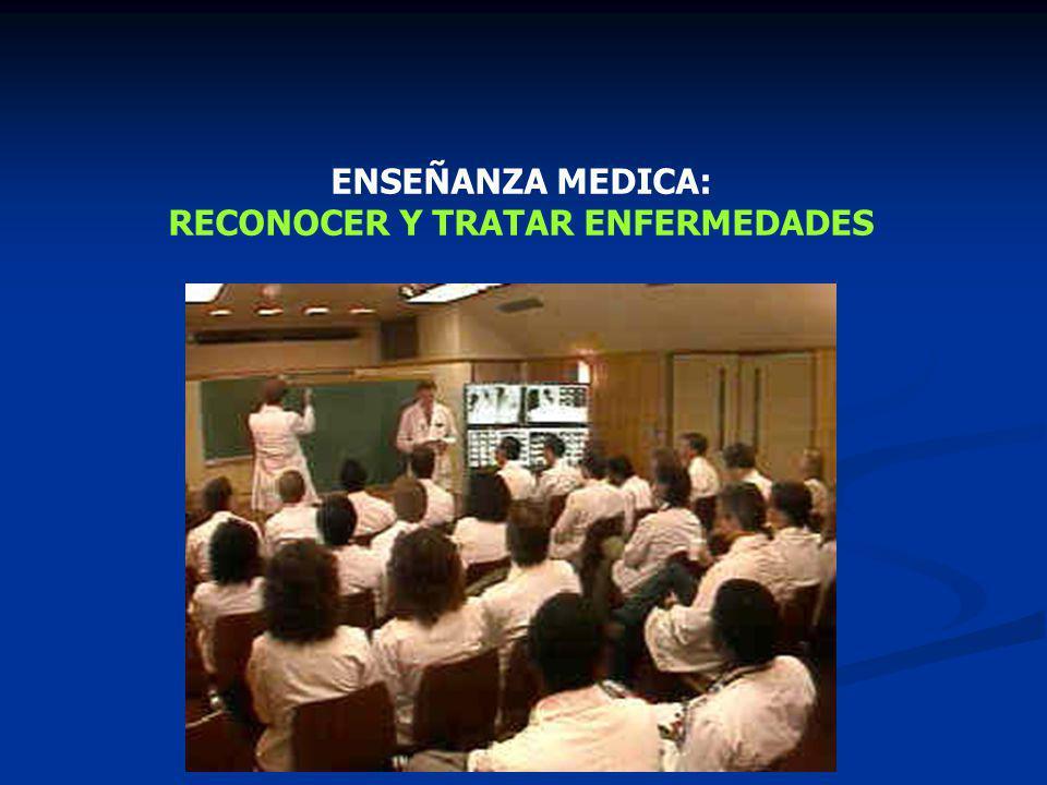 RECONOCER Y TRATAR ENFERMEDADES
