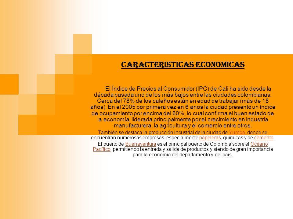 CARACTERISTICAS ECONOMICAS