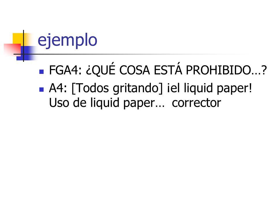 ejemplo FGA4: ¿QUÉ COSA ESTÁ PROHIBIDO…