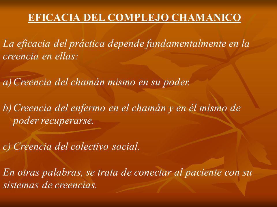 EFICACIA DEL COMPLEJO CHAMANICO