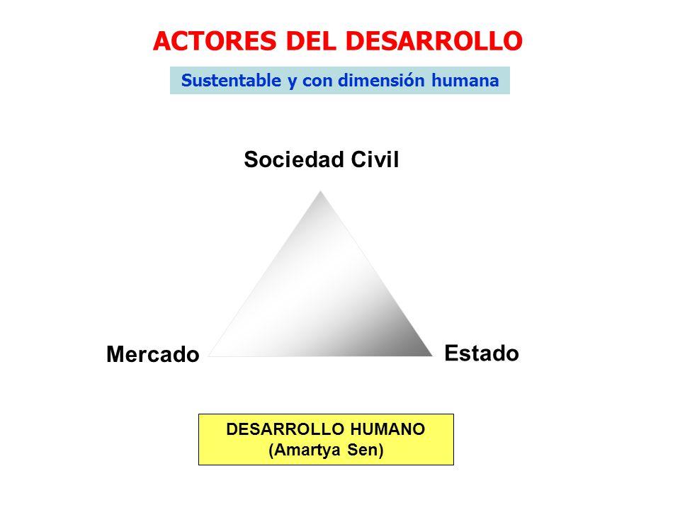 ACTORES DEL DESARROLLO