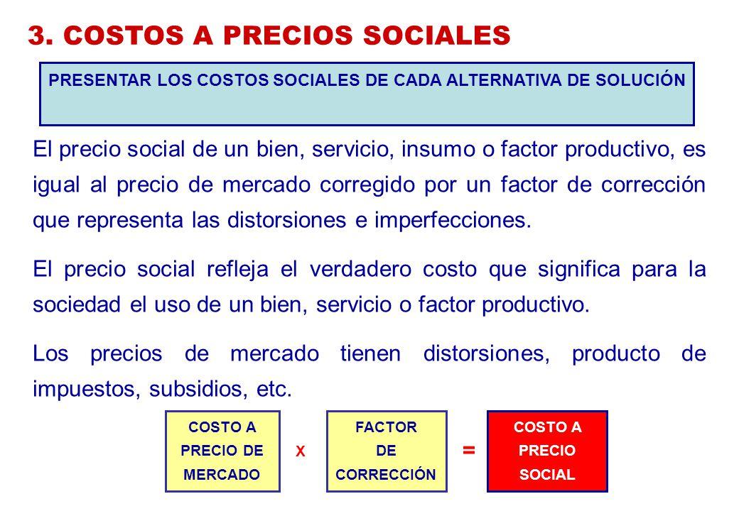 3. COSTOS A PRECIOS SOCIALES
