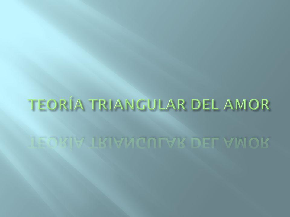 TEORÍA TRIANGULAR DEL AMOR