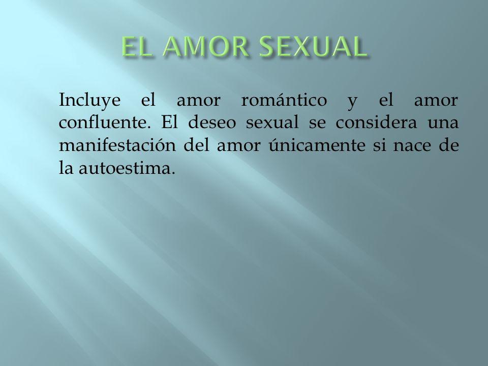 EL AMOR SEXUAL