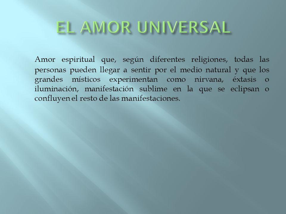EL AMOR UNIVERSAL
