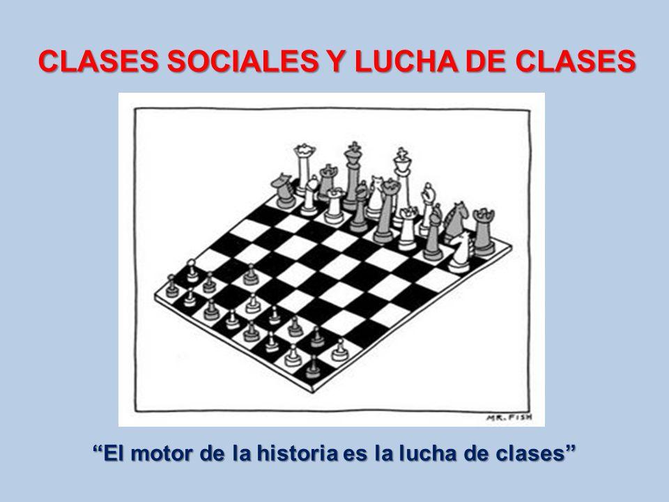 CLASES SOCIALES Y LUCHA DE CLASES
