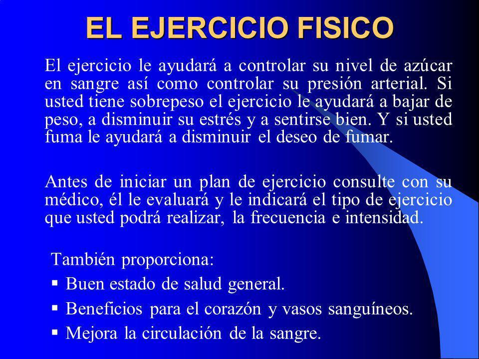 EL EJERCICIO FISICO