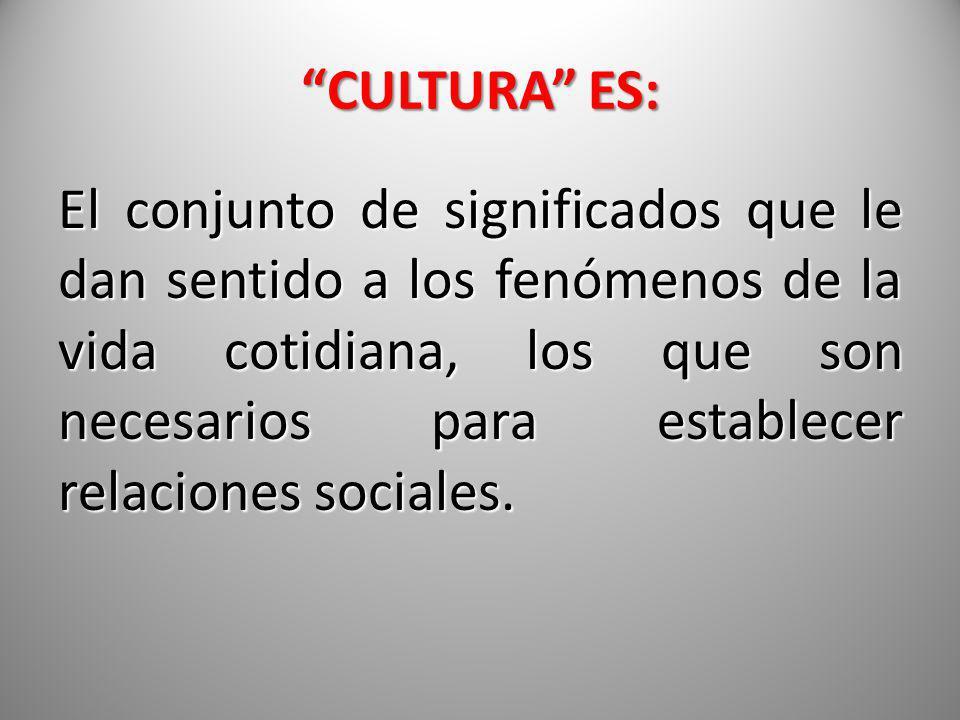 CULTURA ES: