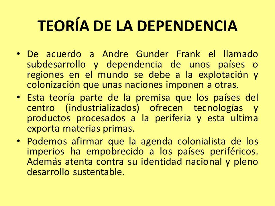 TEORÍA DE LA DEPENDENCIA