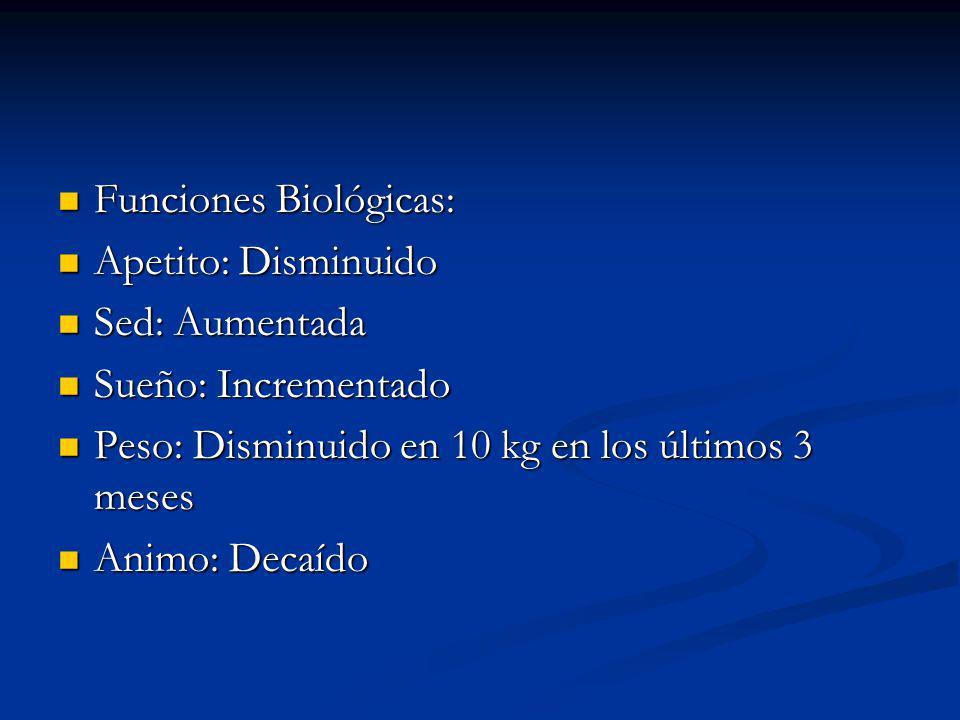 Funciones Biológicas: