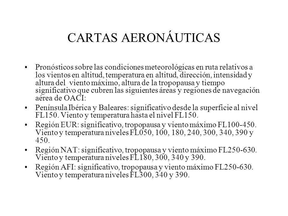 CARTAS AERONÁUTICAS
