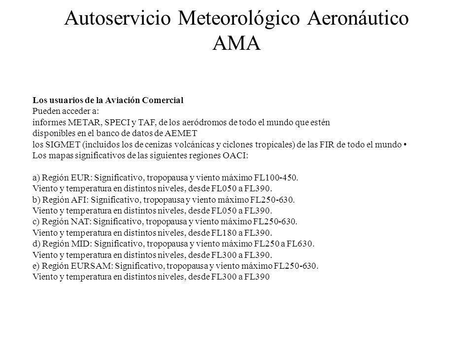 Autoservicio Meteorológico Aeronáutico AMA