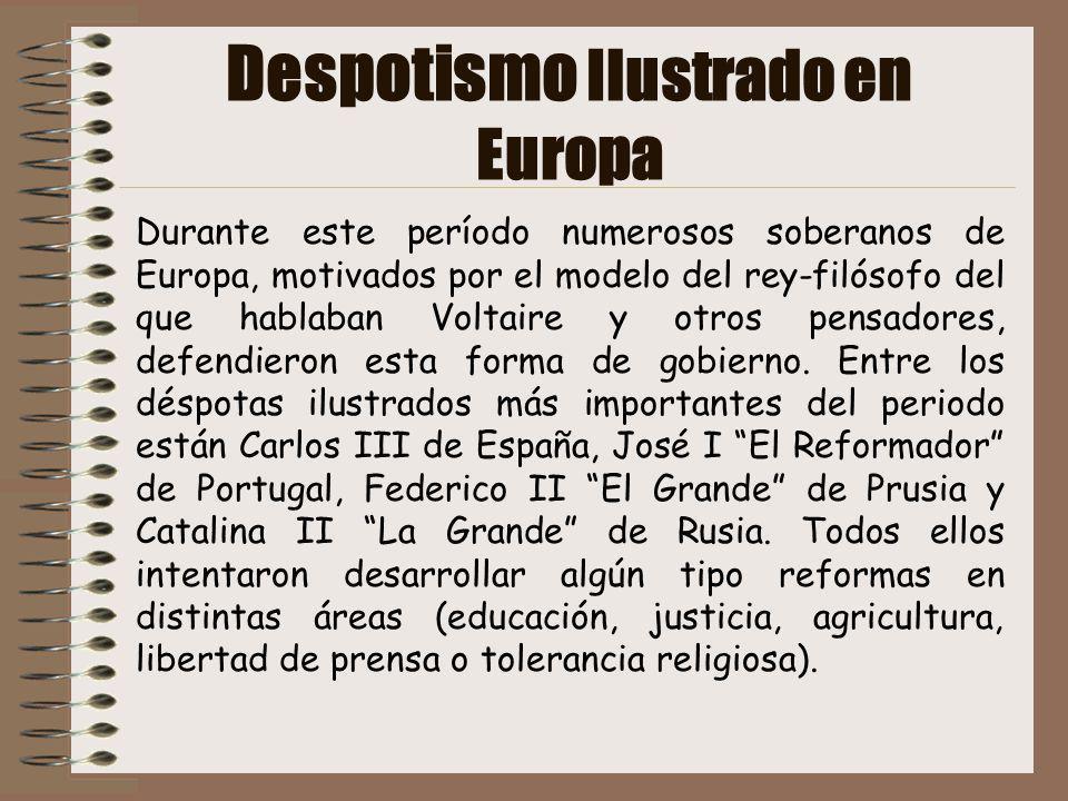 Despotismo Ilustrado en Europa
