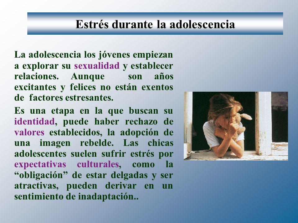 Estrés durante la adolescencia