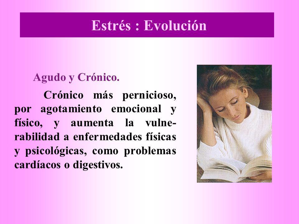 Estrés : Evolución Agudo y Crónico.