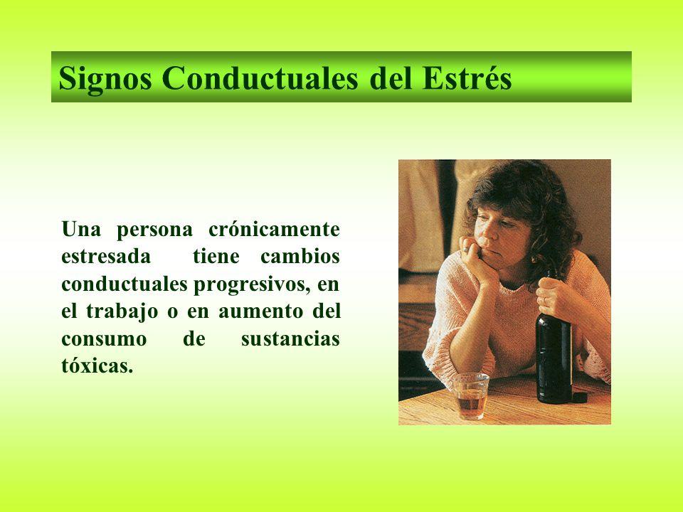 Signos Conductuales del Estrés