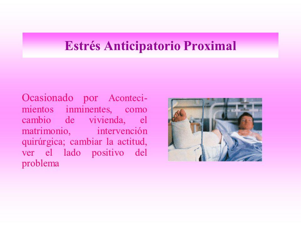 Estrés Anticipatorio Proximal