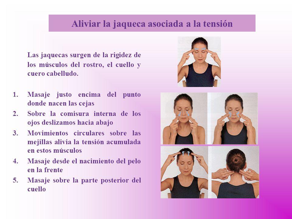 Aliviar la jaqueca asociada a la tensión
