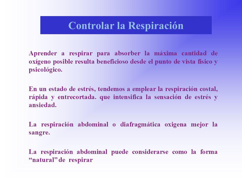 Controlar la Respiración