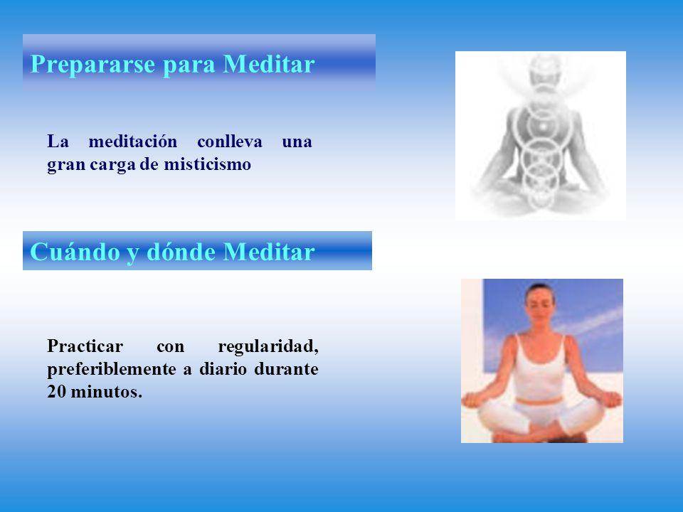 Prepararse para Meditar