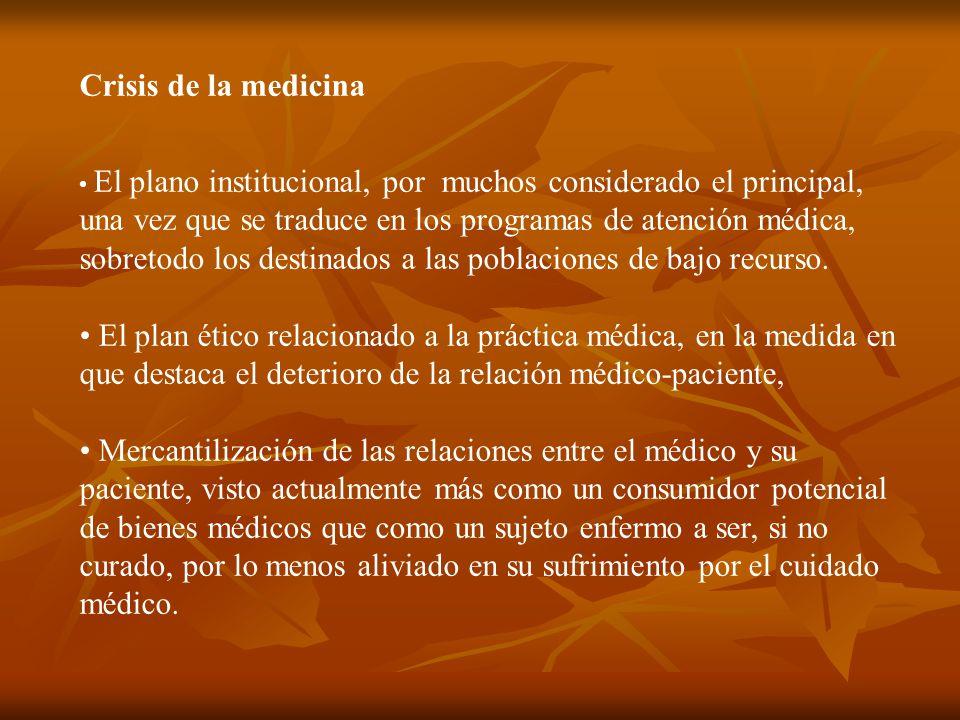 Crisis de la medicina