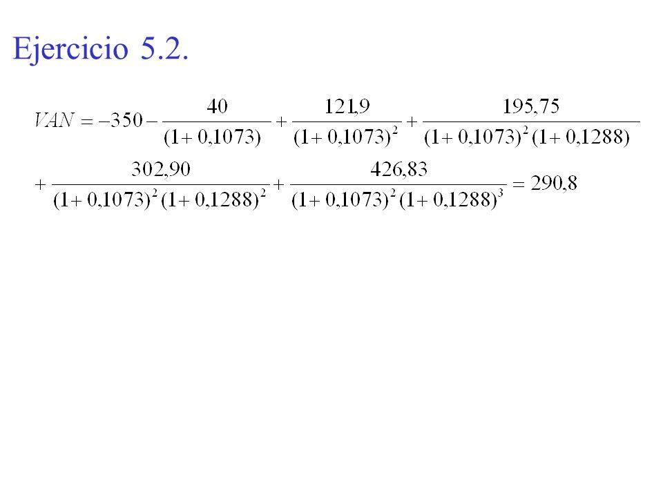 Ejercicio 5.2.