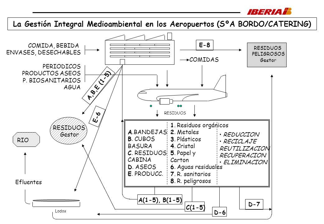La Gestión Integral Medioambiental en los Aeropuertos (SºA BORDO/CATERING)