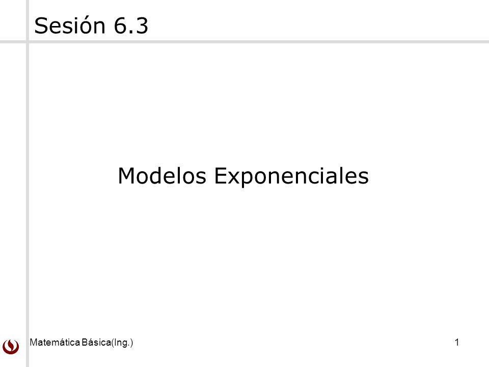 Modelos Exponenciales