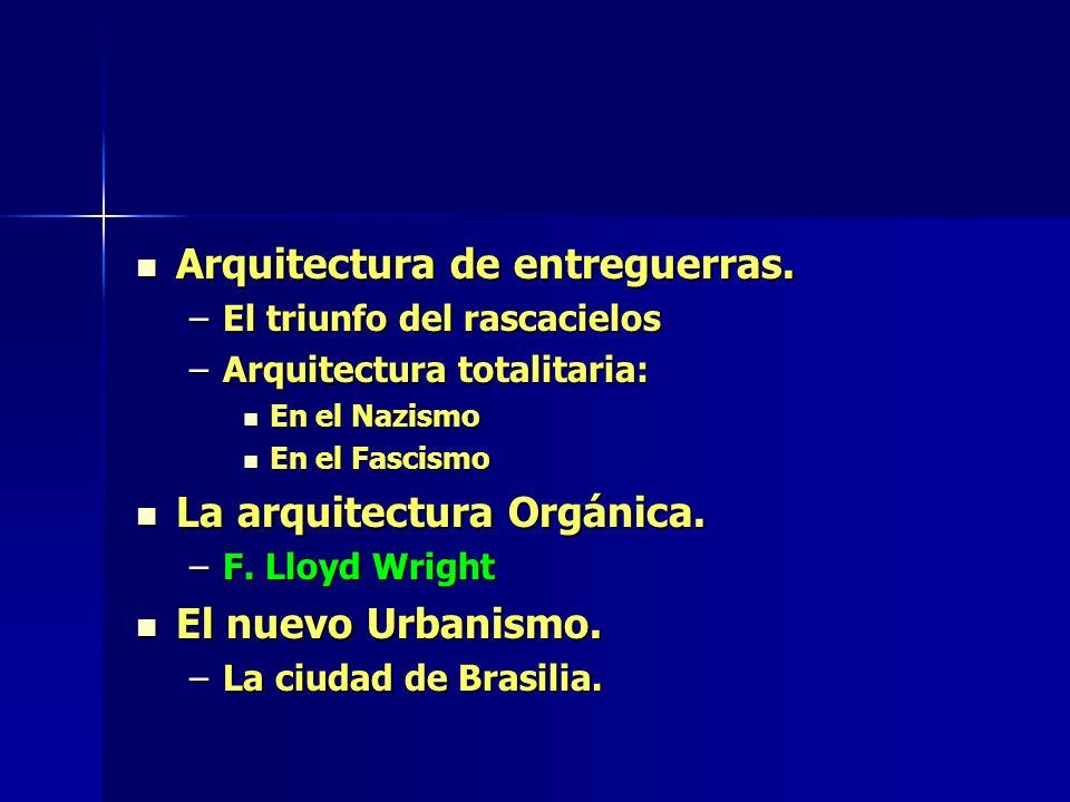 Arquitectura de entreguerras.