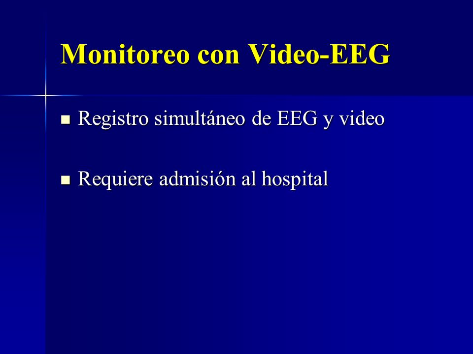 Monitoreo con Video-EEG