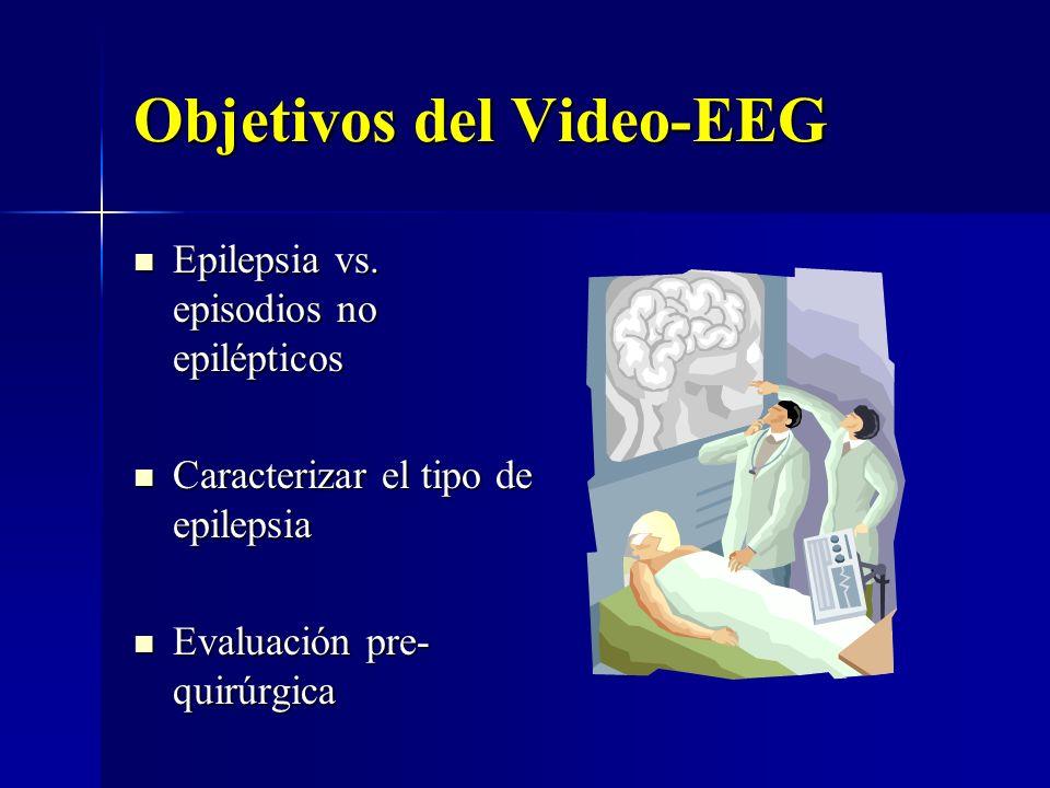 Objetivos del Video-EEG