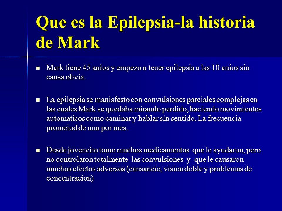 Que es la Epilepsia-la historia de Mark