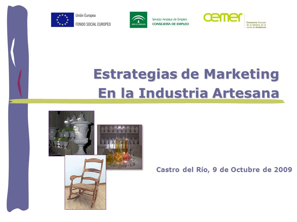 Estrategias de Marketing En la Industria Artesana