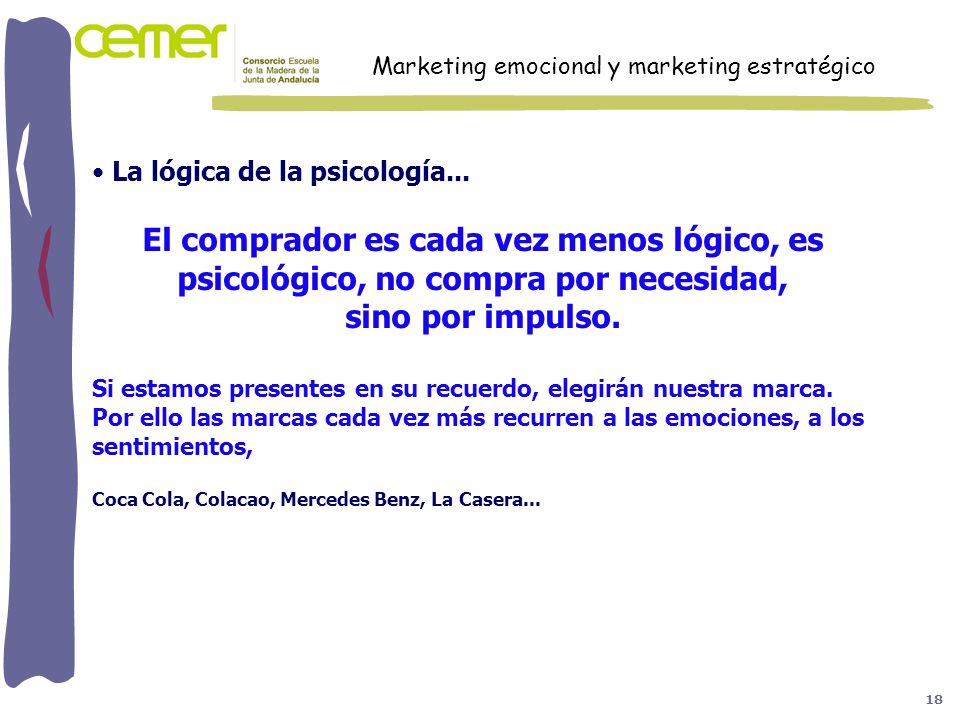 Marketing emocional y marketing estratégico