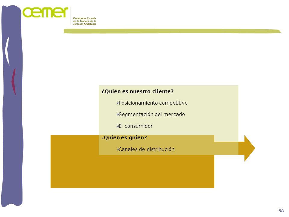 ¿Quién es nuestro cliente Posicionamiento competitivo