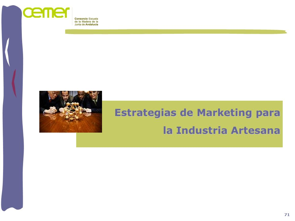 Estrategias de Marketing para la Industria Artesana