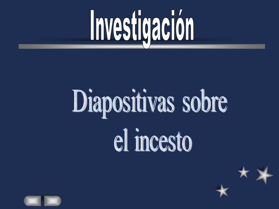 Investigación Diapositivas sobre el incesto