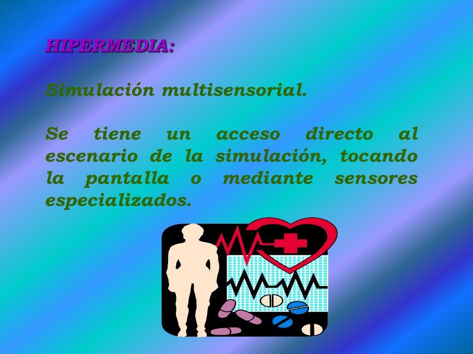 HIPERMEDIA: Simulación multisensorial.