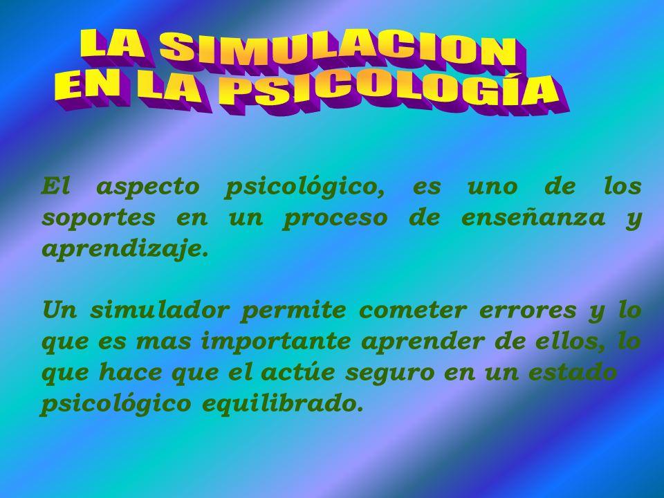 LA SIMULACION EN LA PSICOLOGÍA