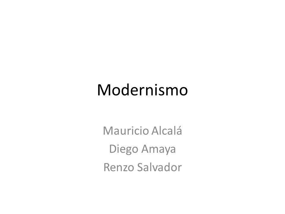 Mauricio Alcalá Diego Amaya Renzo Salvador