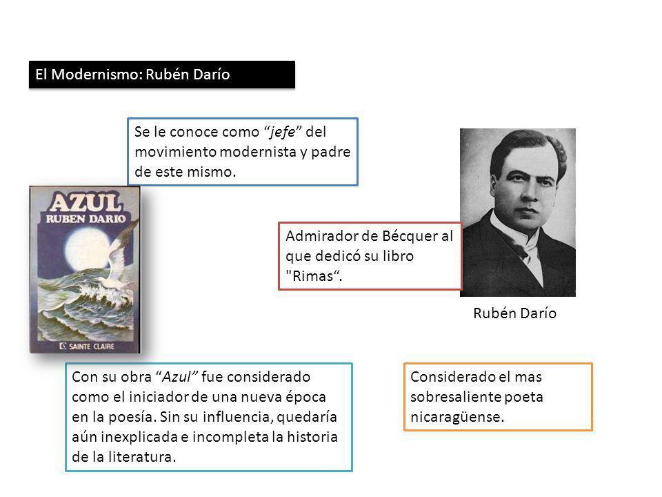 El Modernismo: Rubén Darío